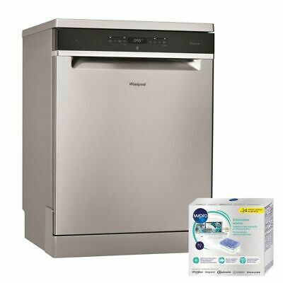 WHIRLPOOL LAVE-VAISSELLE posable Inox 46dB A+ 14 couverts 60cm 8 programmes