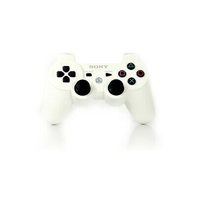[PS3] Original Sony Dualshock Controller | White | Playstation 3