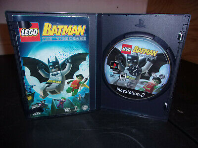 Lego Batman The Videogame Sony Playstation 2 2008 Ps2 Complete