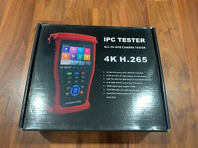 HDView 5-in-1 Touchscreen POE CCTV Tester New!!!