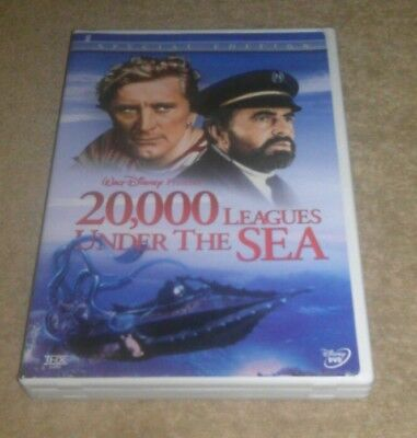 20, 000 Leagues Under the Sea DVD 2-Disc Set Disney Special Edition Kirk Douglas