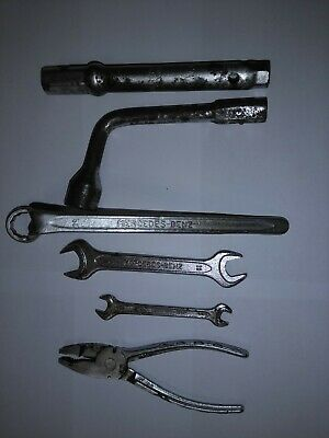 Mercedes-Benz Factory Vintage Tools From My 190E 2.5-16V Cosworth (In Pouch)