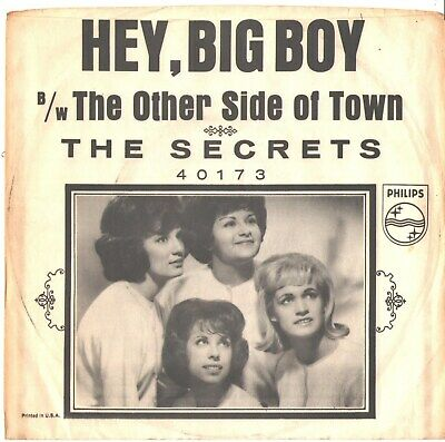official photos e425c 76611 Secrets--Picture Sleeve Only---(Hey, Big Boy)-