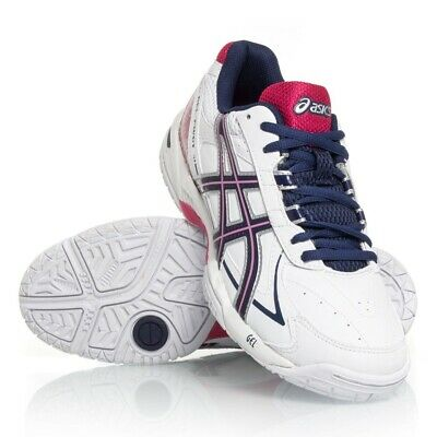 46d8444027c3 ASICS Gel Pivot 9 - Womens Netball Ankle Support Trainers (White Pink Navy)