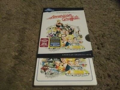 American Graffiti (DVD, 2011, Special Edition) W/SLIPCOVER, GREAT SHAPE
