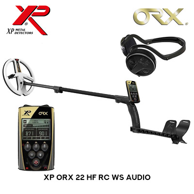 XP ORX 22 HF RC WS Audio Metalldetektor Komplett-Set