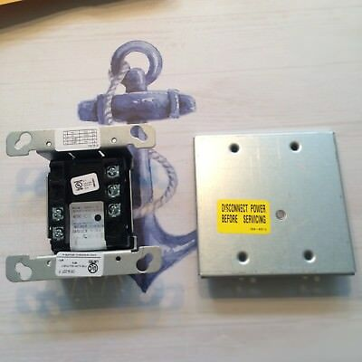 Simplex 4090-9002 IAM Relay Module 4090-9802 Trim Plate For Surface Mounted Box