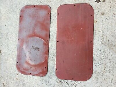 1956 1955 1954 1953 Ford Truck Door Inspection Panels F100 Pickup F-100 F250