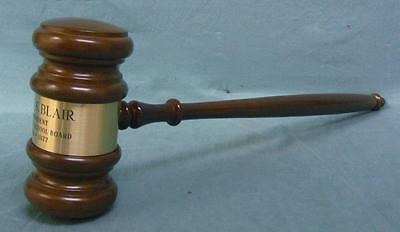 Huge enormous vintage 1977  gavel! Over 20 inches long! In its original box!