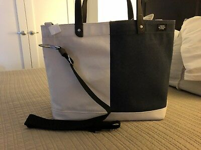 fdce5cd28 JACK SPADE NYC LARGE TOTE BAG SHOULDER BAG CANVAS NWT Ret $228 SALE 50% off