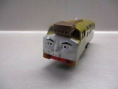 tomy trackmaster thomas the tank engine battery train diesel 10 scuffed face