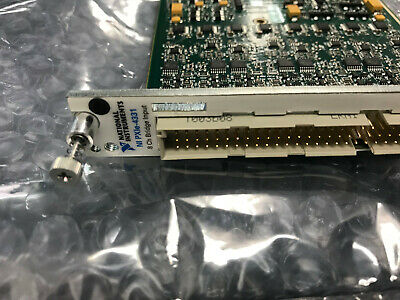 National Instruments NI PXIe-4331 8 Ch Bridge Input Tested Good