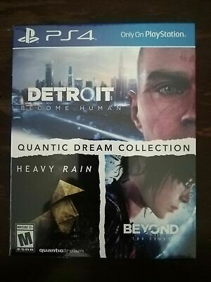 Quantic Dream Collection PS4 Detroit Beyond Souls Heavy Rain 3 games included!