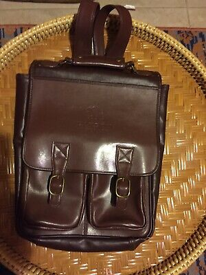Rare Tequila Patron Brown Messenger Backpack Buckle Collector Bag Man purse