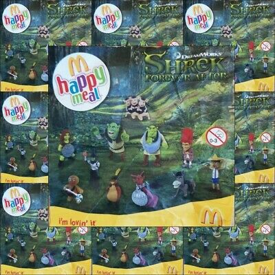 Mcdonalds Happy Meal Toy 2010 Shrek Forever After Character Toys Various 7 75 Picclick Uk
