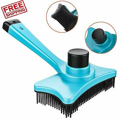 Grooming Pet Brush DeShedding Tool Cat Dog  Fur Removal Rake