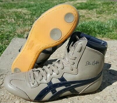 premium selection 4971a 573ad RARE BRAND NEW Asics Leather Dan Gable Tiger Wrestling Shoes Size 7