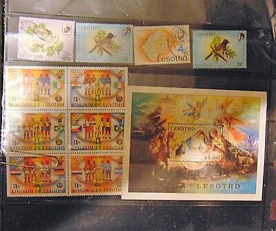 A Beautiful Selection Of Stamps From  Lesotho #455