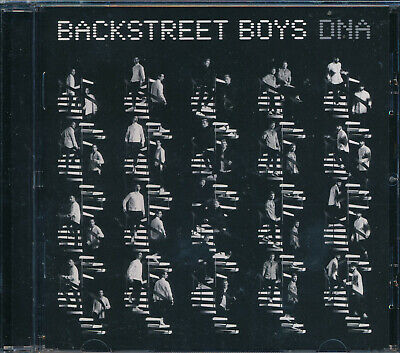 Backstreet Boys DNA CD NEW Don' Go Breaking My Heart Passionate
