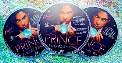 Pin and FREE Prince and The NPG Live in Montreux July 2013 3 DVD Set USA Seller