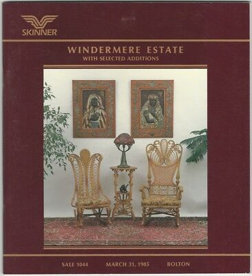 Windermere Estate with Selected Additions - Skinner Auction Catalog 1985