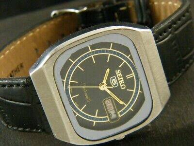 VINTAGE SEIKO 5 AUTOMATIC JAPAN MEN'S DAY/DATE WATCH 200-a120710-7