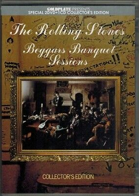 THE ROLLING STONES  Beggars Banquet Sessions  Goldplate PRESS 2DVD+1CD *F/S