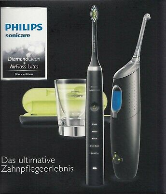 PHILIPS Sonicare DiamondClean & AirFloss Ultra HX8491/03 Black edition NEU & OVP