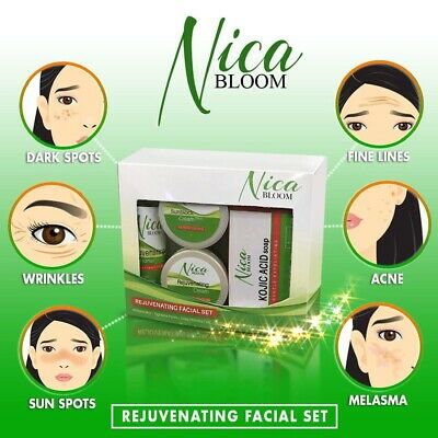 Nica Bloom Rejuvenating Facial Set - New - EXP 2020 - Hot new product abroad