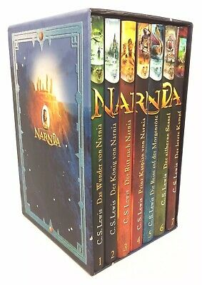 The Chronicles of Narnia C.S. Lewis German Edition Box Set Chroniken Von Narnia