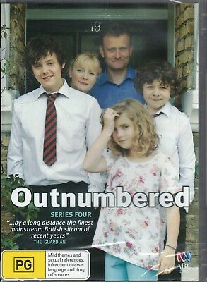 OUTNUMBERED Series/Season 4 Four DVD NEW & SEALED Free Post