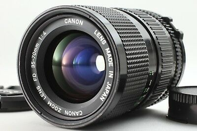 【Excellent++++】 Canon New FD 35-70mm F/4 MF Macro Zoom Lens From Japan #034