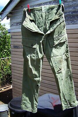 surplus army trousers jungle greens 1975