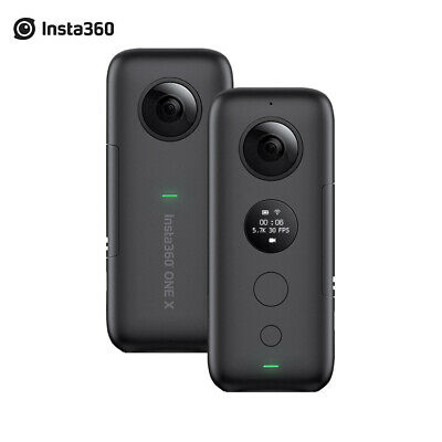 New Insta360 ONE X 360 Panoramic Action Camera 5.7K Video&18MP Photos GPS O8Q9