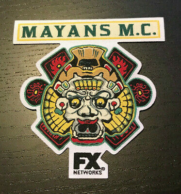 SDCC 2018 MAYANS M.C. Patch - Embroidered -  Comic Con FX