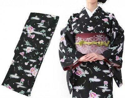 Traditional Japanese Womens Kimono Fine Pattern 12A L Size Japan with Tracking