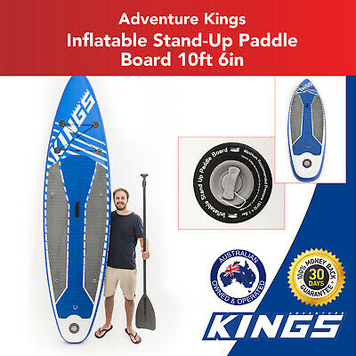 Kings Inflatable Stand-Up Paddle Board   10ft 6in   HUGE 150kg rating   Inc. Pum