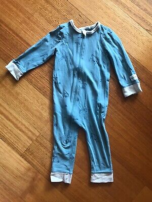 Country Road Baby Jumpsuit Size 0 6-12 Months Unisex Boy Blue