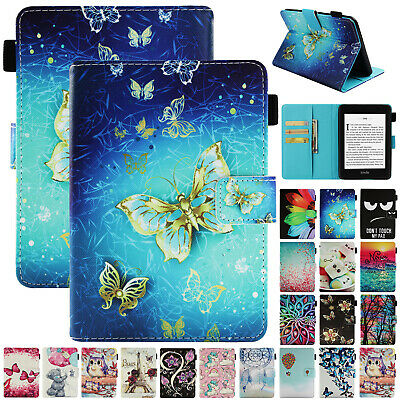 For Kindle Paperwhite 2018 10th Gen Case Smart Leather Magnetic Flip Stand Cover