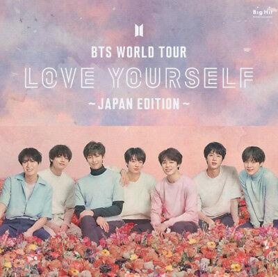 Bts Bangtan Boys World Tour Love Yourself Japan Official Goods Fabric Poster New
