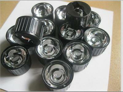 10pcs 30 degree led Lens for 1W 3W 5W Hight Power LED with Holder  new.