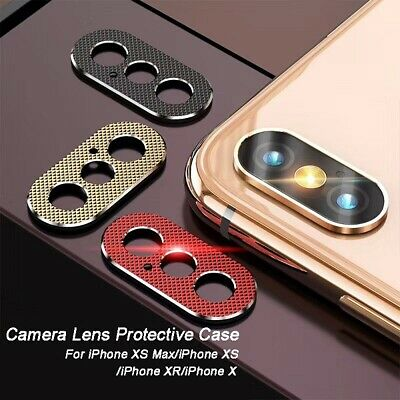 Luxury Lens Protective Ring Case Camera Guard Circle Metal Lens for iPhone