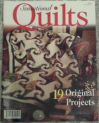 19 Original Projects in Sensational QUILTS Magazine