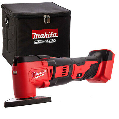Milwaukee M18BMT-0 M18 18V Compact Multi Tool Body With 831373-8 Cube Tool Bag