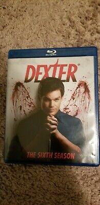 Dexter: The Sixth Season (Blu-ray Disc, 2012, 3-Disc Set)