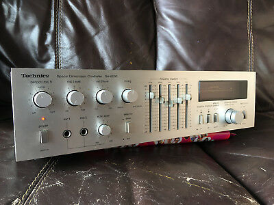 Technics SH-8030 Equalizer Space Dimension Controller Made In Japan