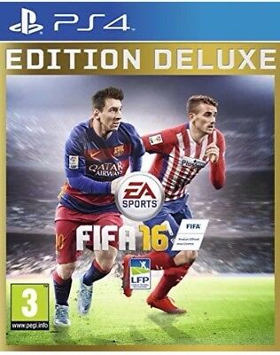 FIFA 16 - Deluxe Edition - PlayStation 4 - PS4 / PS IV Spiel - NEU&OVP