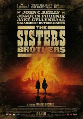 THE SISTERS BROTHERS (2019 John C.Reilly) [DVD] PAL Region 2
