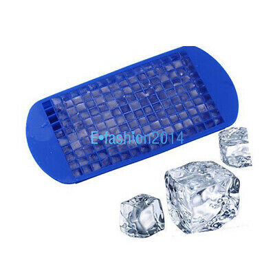 CN Test 160 Grids Mini Ice Cube Frozen Mold Silicone Trays Cold Drink Helper
