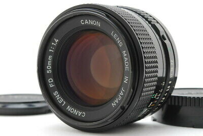 [ near MINT!! ] Canon New FD 50mm f/1.4 Beautiful Lens From Japan Free Shipping!